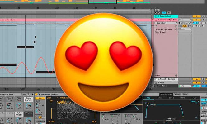 Ableton suma emojis al Live
