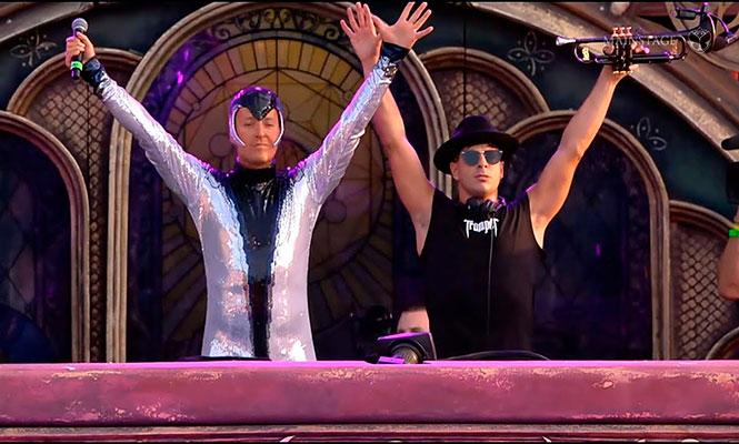 Techno vs. EDM: Funk D'Void trolleó a Timmy Trumpet por su set de Tomorrowland