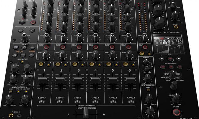 Pioneer DJ anunció la salida de su nuevo mixer, DJM-V10