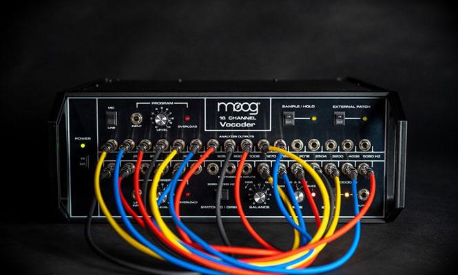 Moog anunció el regreso de su legendario vocoder
