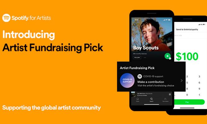 Spotify introduce una nueva herramienta para dejar propinas a artistas