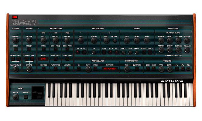 Arturia anunció el OB-Xa V, un nuevo sintetizador virtual