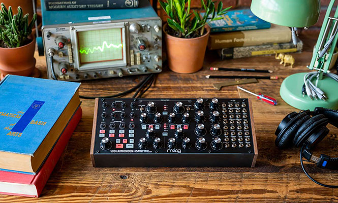 Moog lanzó su nuevo sintetizador Subharmonicon