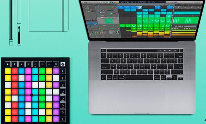 El Launchpad de Novation ahora controla «Live Loops» con Logic Pro X 10.5