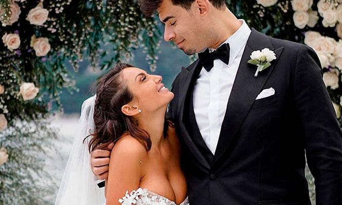 Afrojack se casó con Elettra Lamborghini