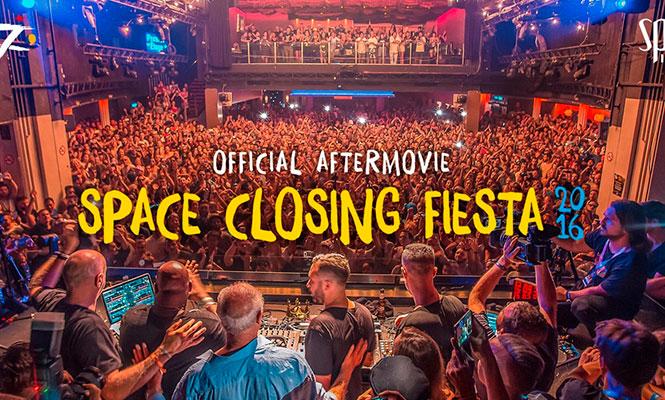 Space Ibiza compartió un aftermovie de su despedida