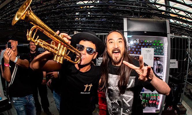 Steve Aoki y Timmy Trumpet rinden homenaje a Pulp Fiction con su nueva colaboración, «Tarantino»