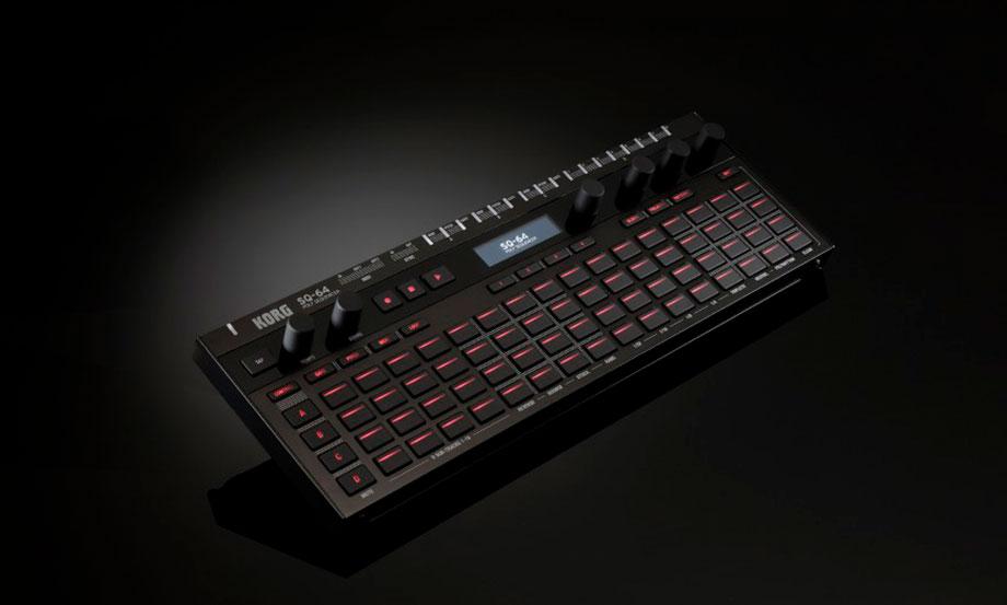 Korg presentó su nuevo secuenciador portátil SQ-64