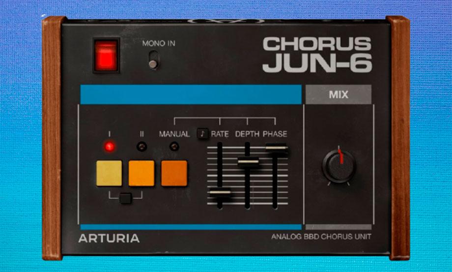 Arturia regala el nuevo plug in Chorus JUN-6 por Navidad