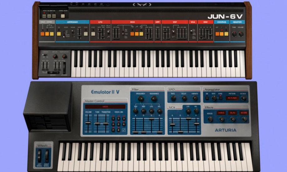 Arturia actualizó su V Collection con clones del Emulator II y el Juno-6