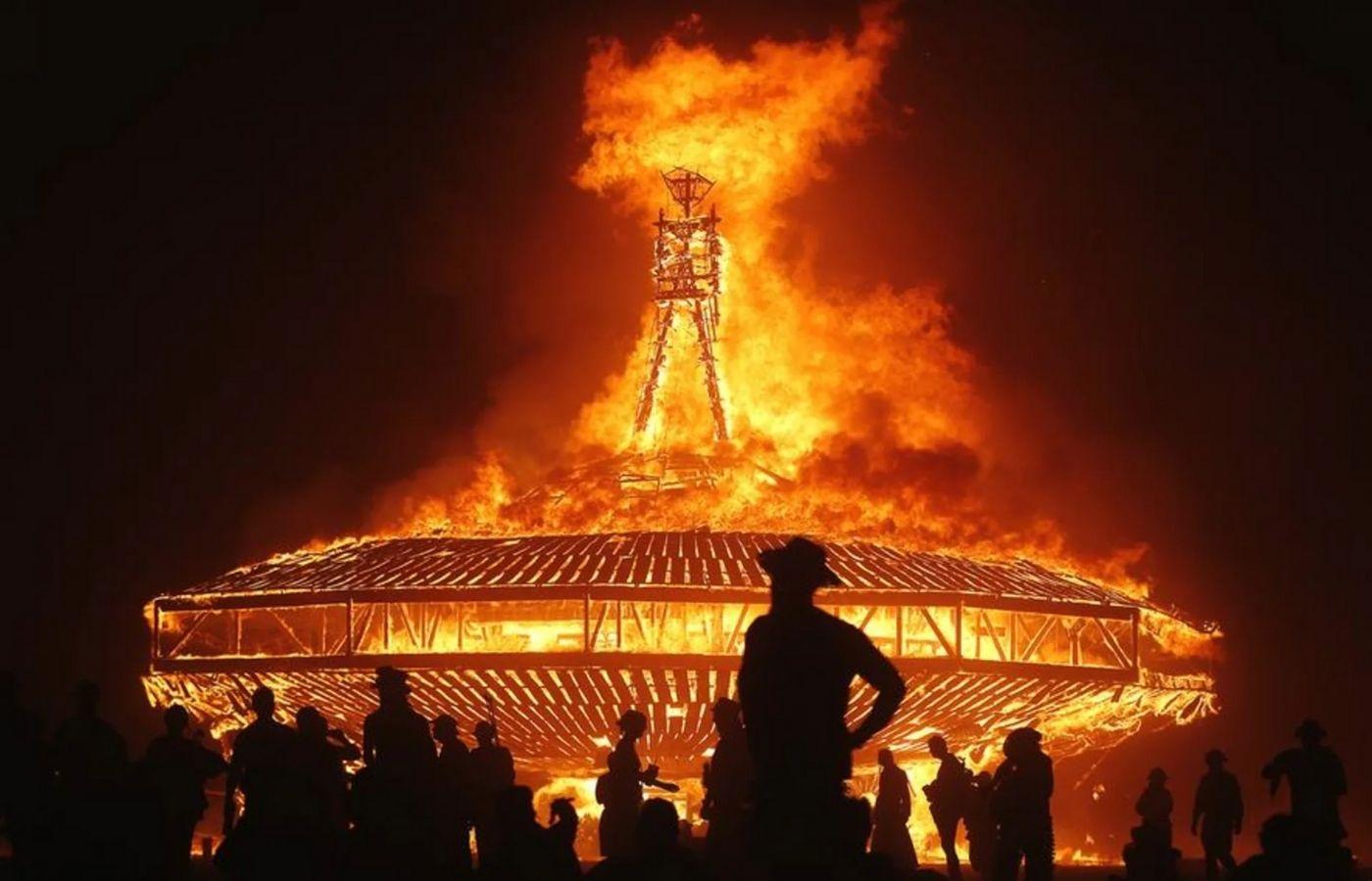 Los organizadores de Burning Man cambian el tema para este año por sus connotaciones negativas