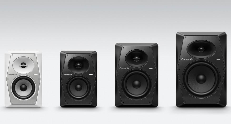 Pioneer DJ anunció la llegada de nuevos monitores de estudio