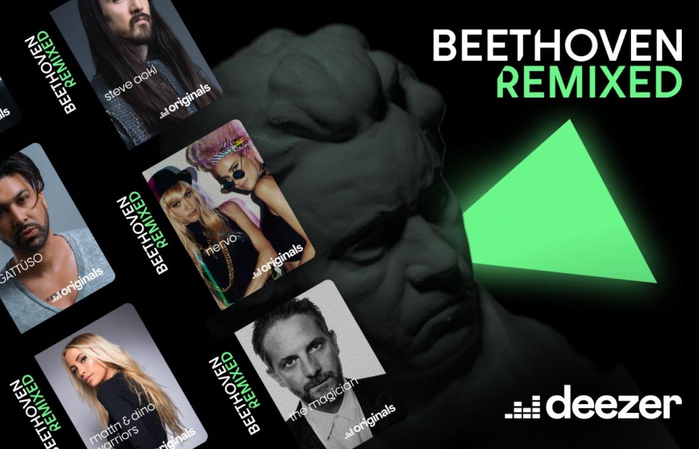 Steve Aoki, NERVO, Mariana BO y más artistas del EDM remixan canciones de Beethoven