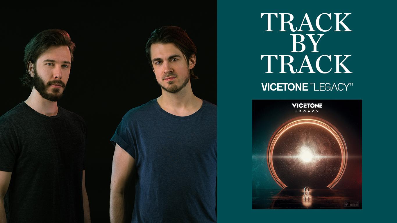 """Track by Track: Vicetone publicó su esperado álbum debut, """"Legacy"""""""