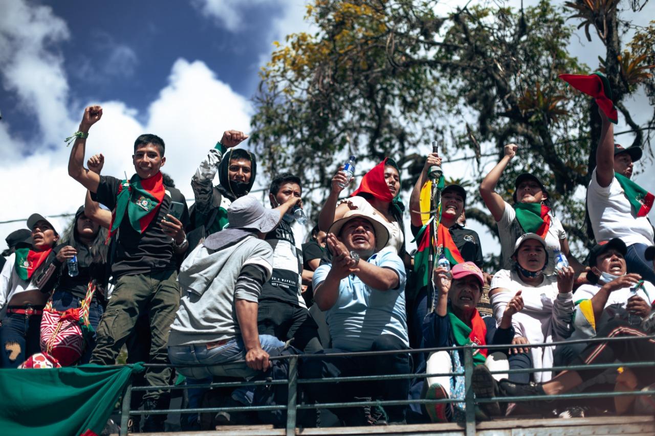 Artistas colombianos alzan la voz sobre la violencia sistemática en el Paro Nacional