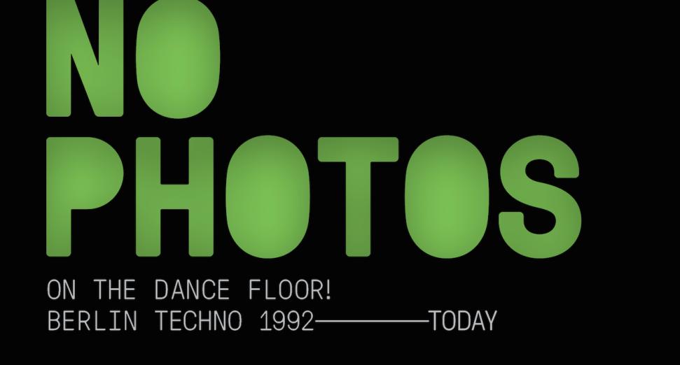 """""""Sin fotos en la pista de baile"""": el nuevo compilado dedicado a la historia del techno berlinés"""
