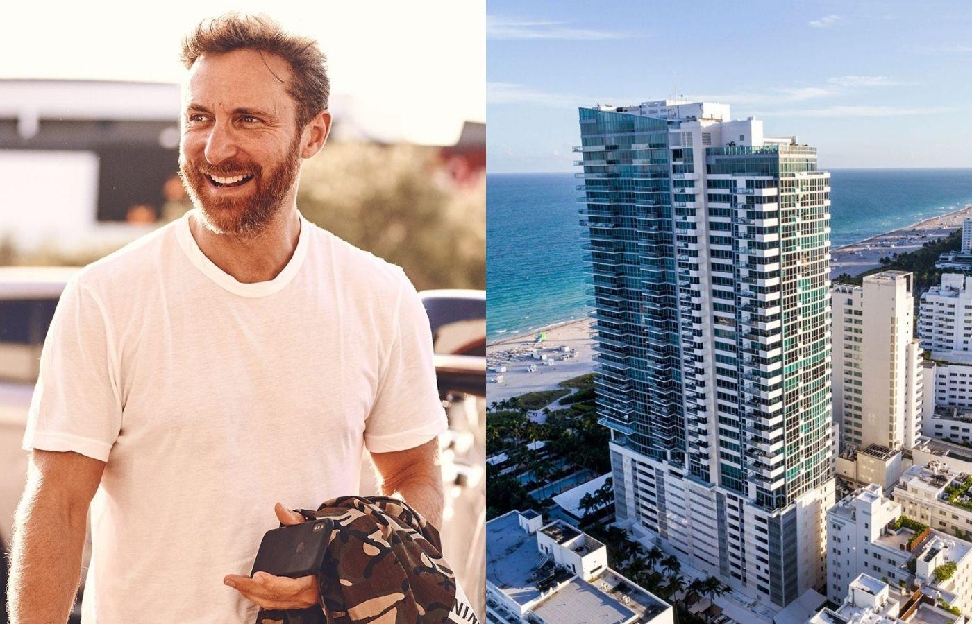 David Guetta está vendiendo su apartamento en Miami por unos 14 millones de dólares