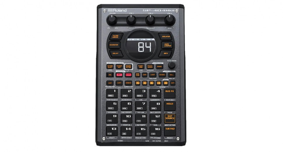 El nuevo Roland SP-404 MKII presentaría simulador de cassette y nuevos efectos